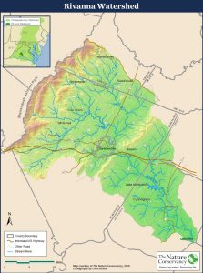 Rivanna Watershed Map