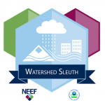 Watershed Sleuth badge